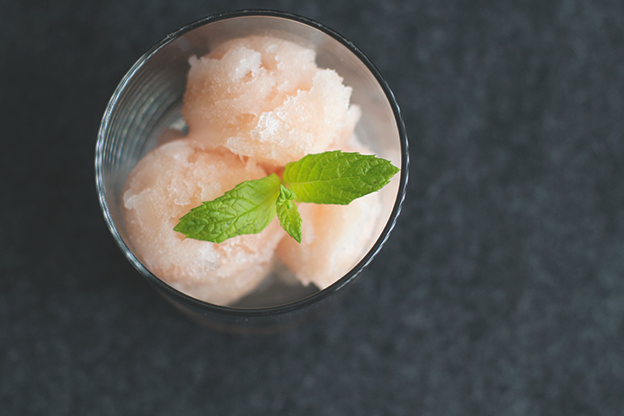 MInt & Grapefruit Sorbet // Wit & Vinegar