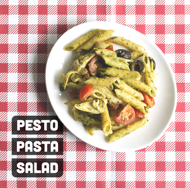 Pesto Pasta Salad // Wit & Vinegar