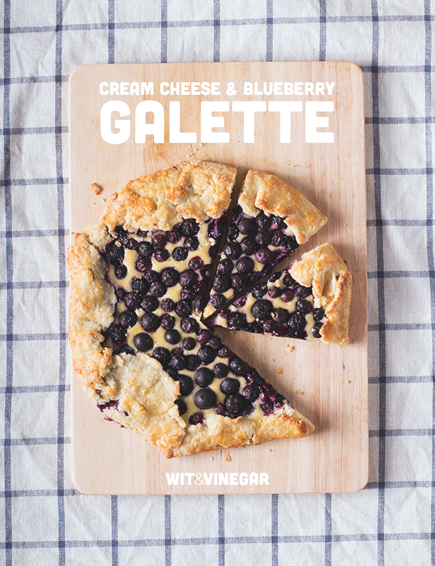 Cream Cheese & Blueberry Galette // Wit & Vinegar