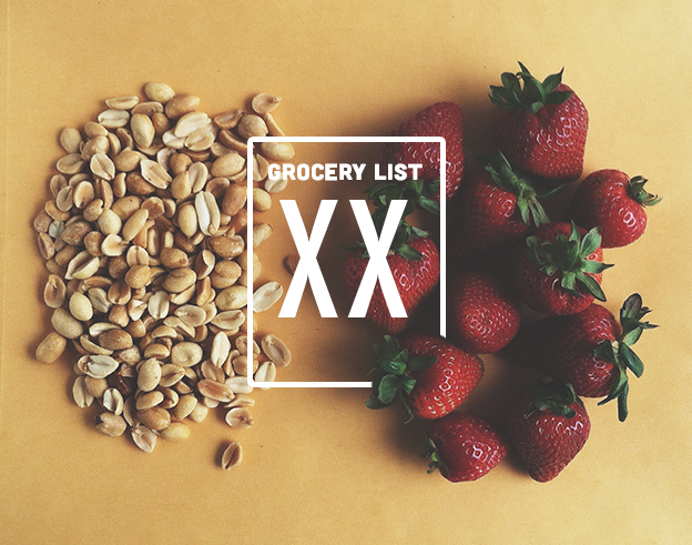 Grocery List XX // Wit & Vinegar