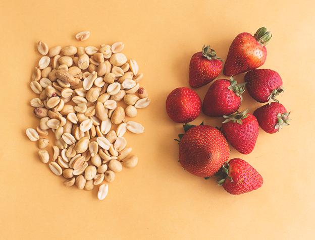 Cinnamon Brown Sugar Peanut Butter and Strawberry Balsamic Jam // Wit & Vinegar