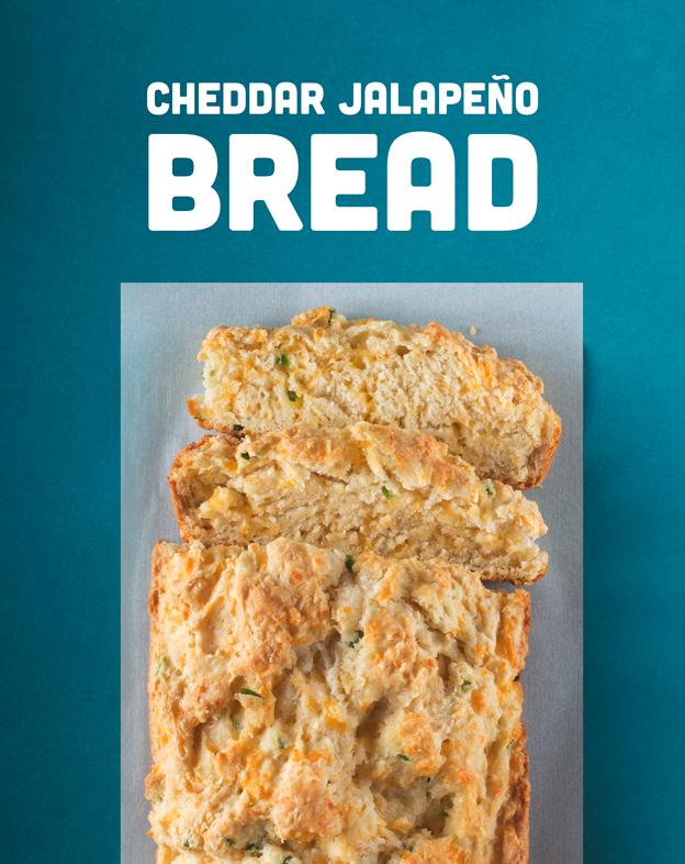 Cheddar Jalapeño Bread // Wit & Vinegar