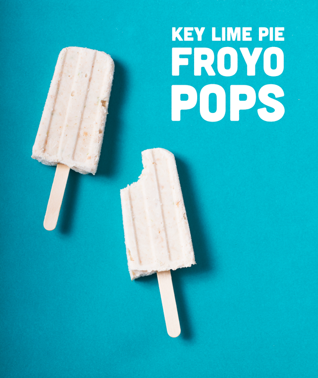Key Lime Pie Froyo Pops // Wit & Vinegar