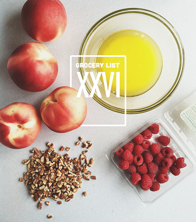 Grocery List XXVI // Wit & Vinegar