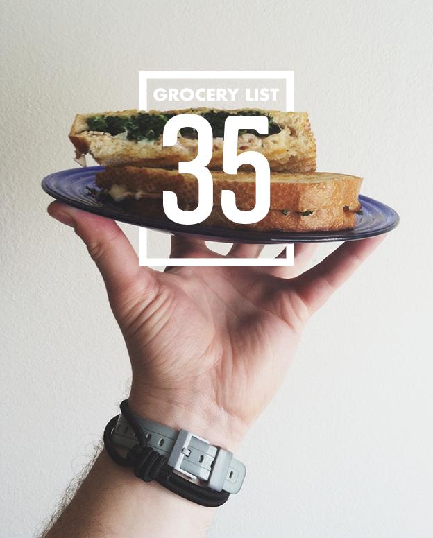 Grocery List 35 // Wit & Vinegar