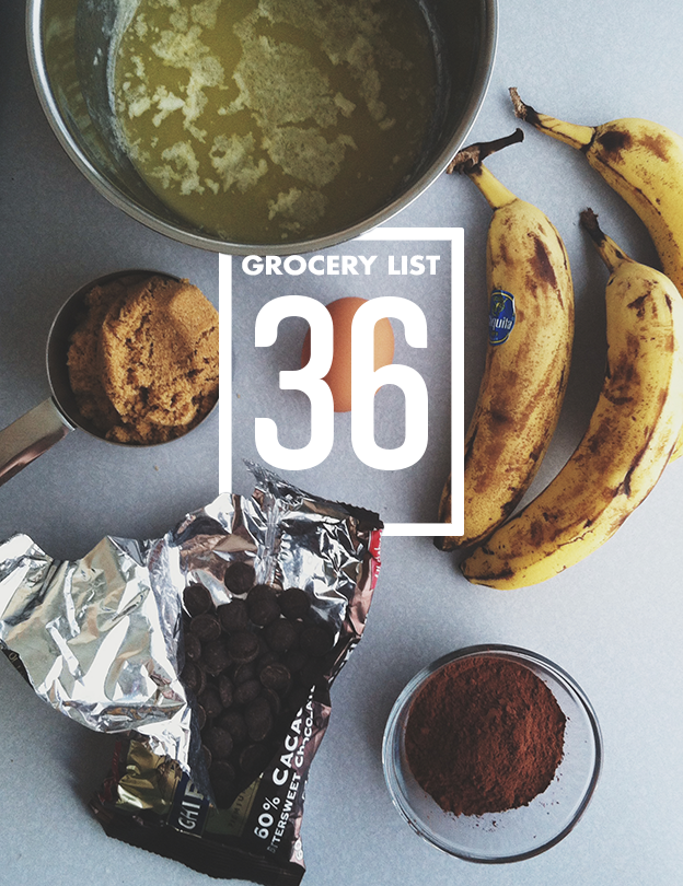 Grocery List 36 // Wit & Vinegar