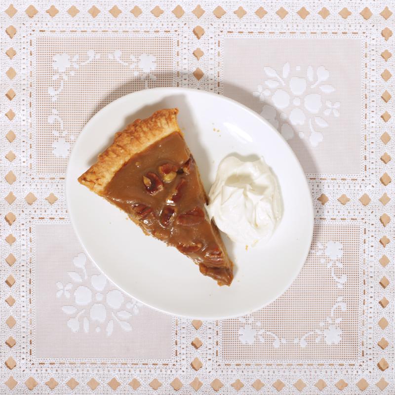 Pumpkin Pie with Pecan Praline Topping // Wit & Vinegar