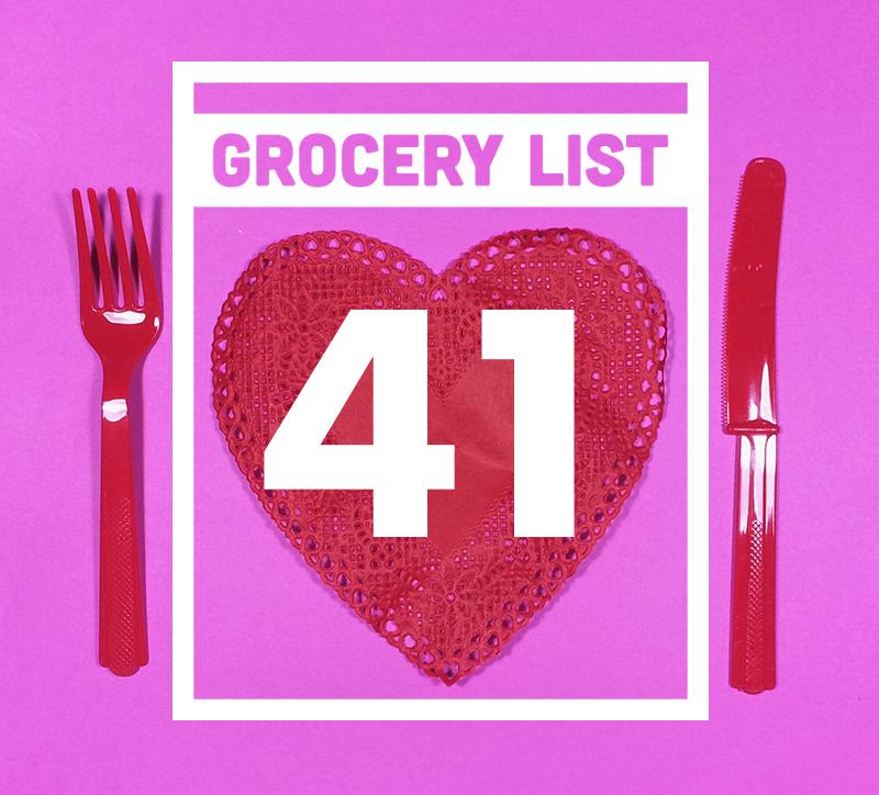 Grocery List 41 // Wit & Vinegar