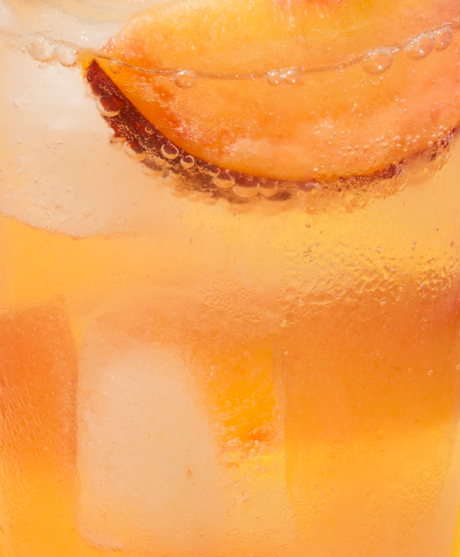 Peach Ginger Ale // Wit & Vinegar