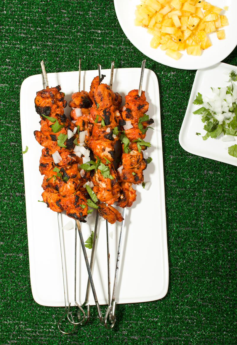 Al Pastor Chicken Skewers // Wit & Vinegar