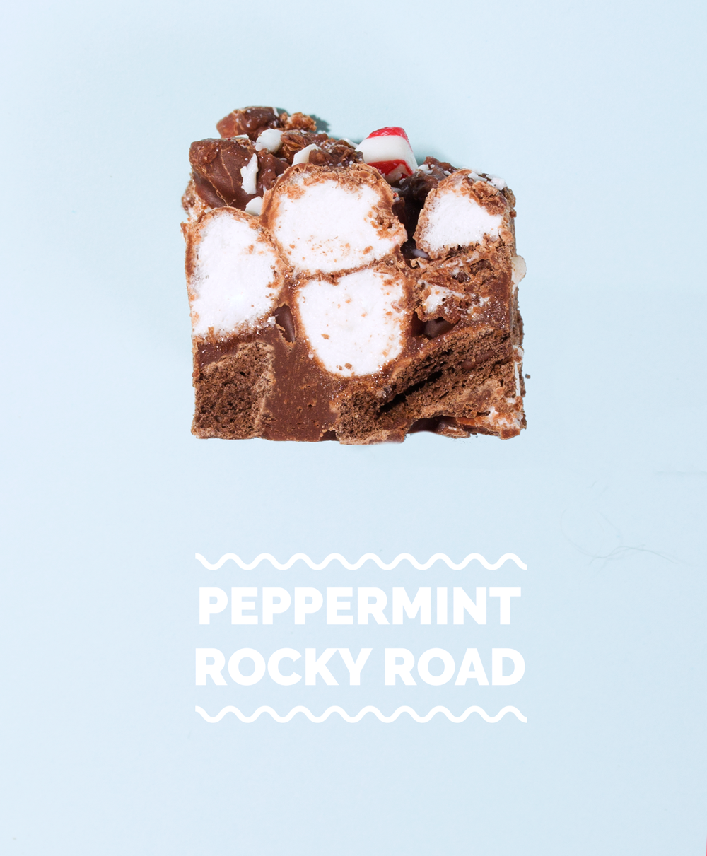 Peppermint Rocky Road // Wit & Vinegar