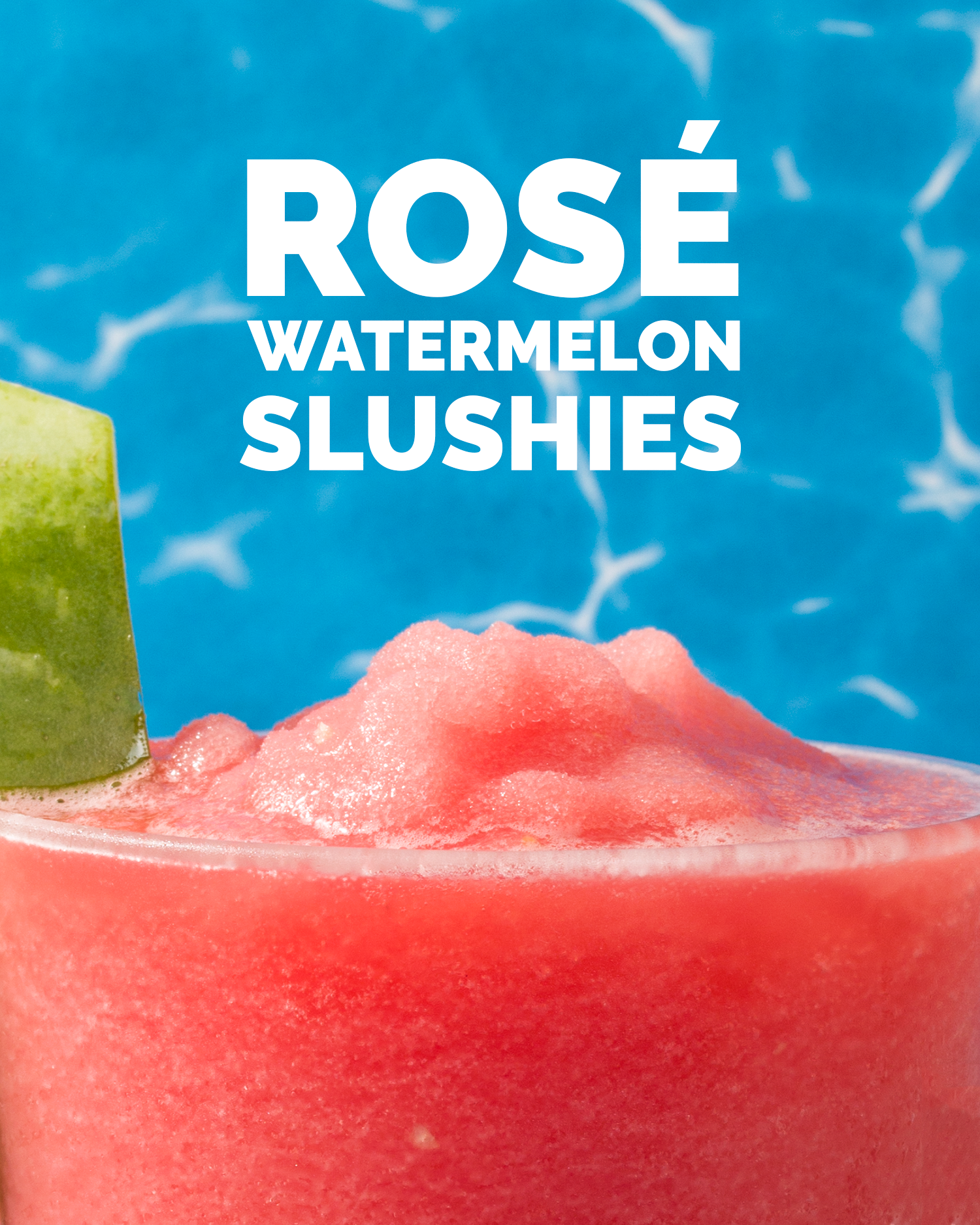 Rosé Watermelon Slushies // Wit & Vinegar