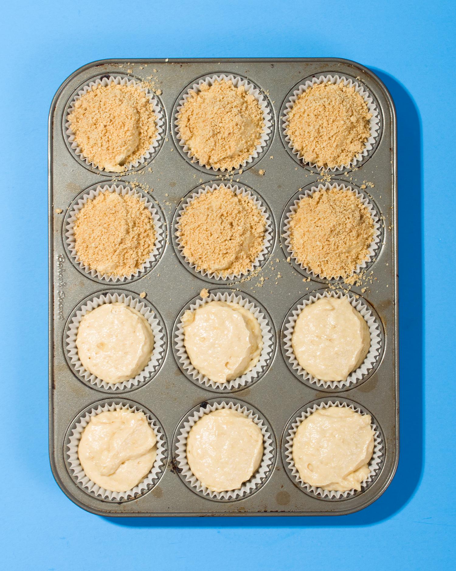 Graham Streusel Tahini Banana Muffins // Wit & Vinegar