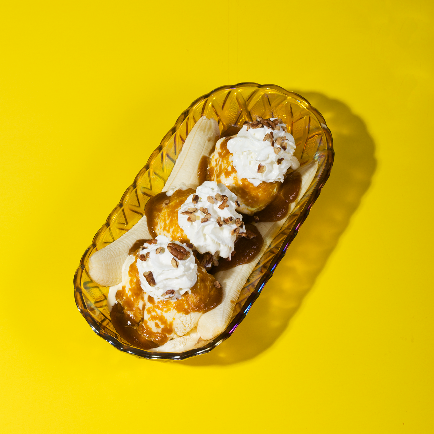 Pumpkin Butterscotch Banana Split // Wit & Vinegar