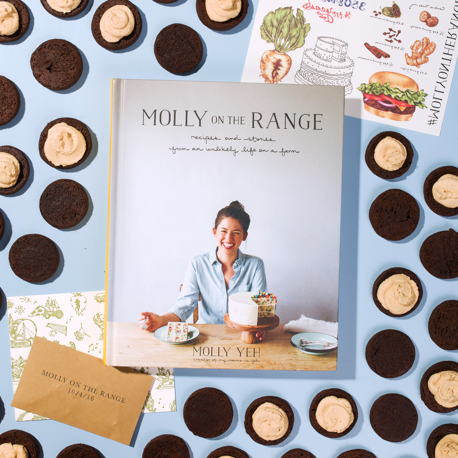 Molly Yeh's Lindsay Lohan Cookies // Wit & Vinegar