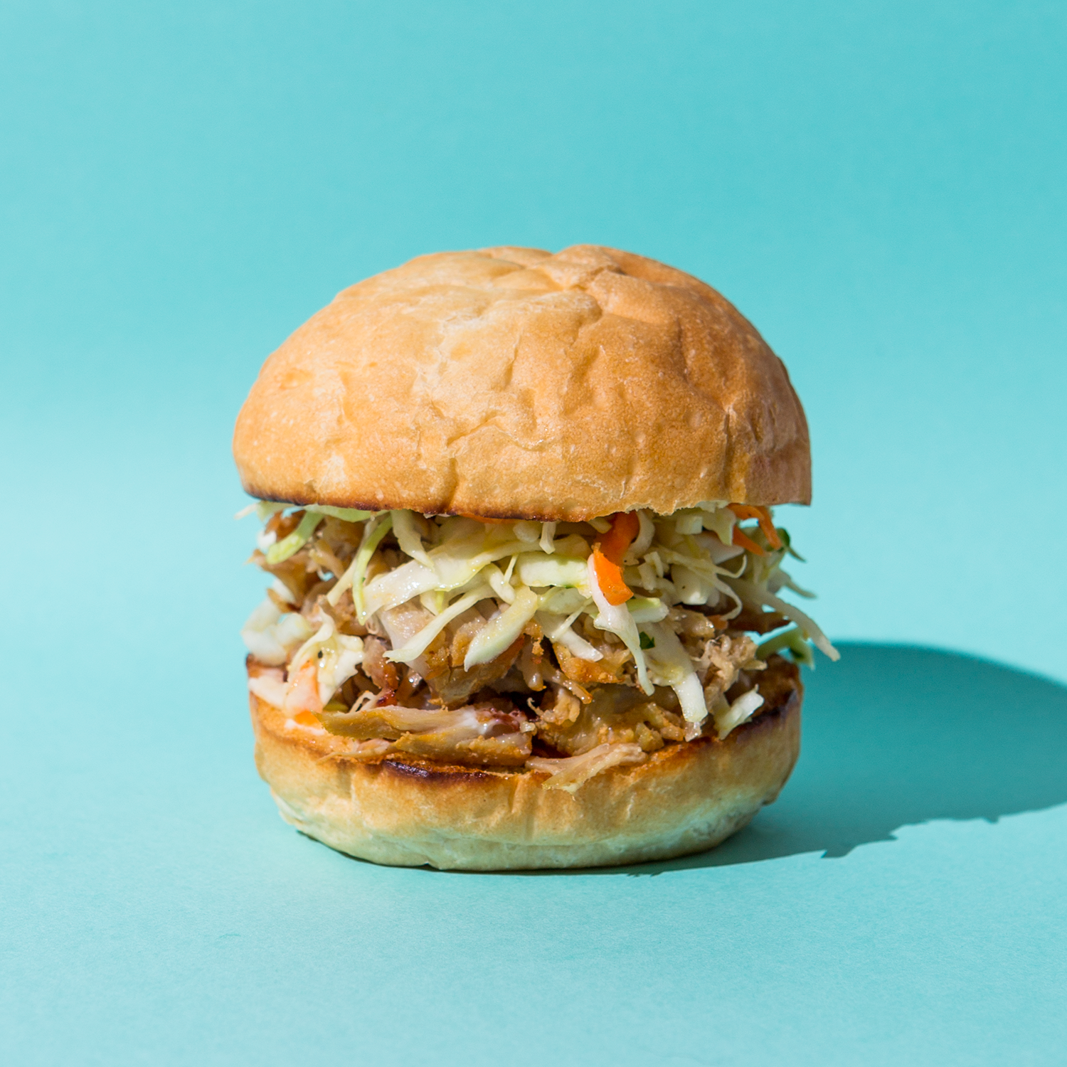 Crispy Pork & Sesame Slaw Sliders // Wit & Vinegar