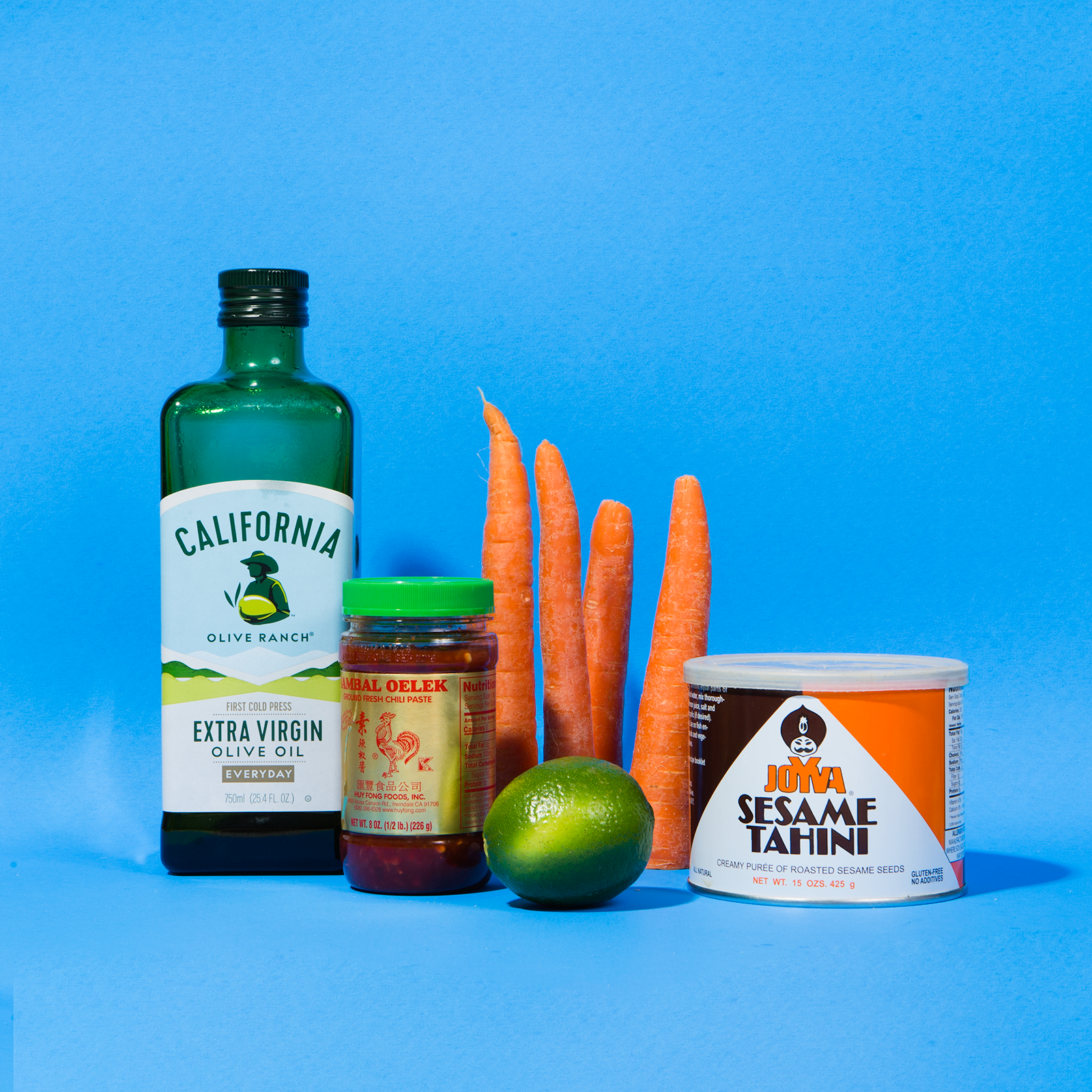Sambal Tahini Carrot Dip // Wit & Vinegar